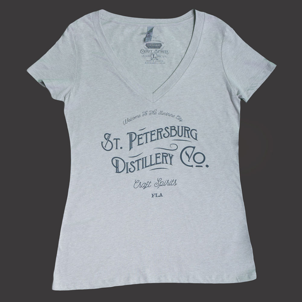 St. Petersburg Distillery (V-Neck)