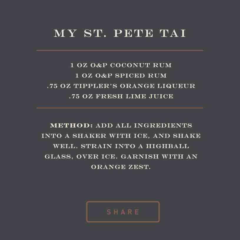 My St. Pete Tai